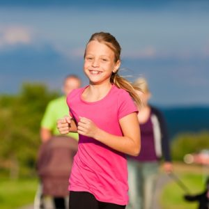 Children are not getting enough exercise.