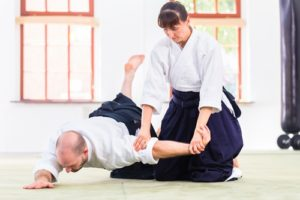 Look for a martial art you'll love.