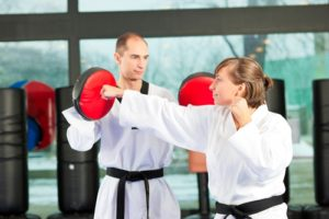 Martial artists offer free classes to people of all ages.
