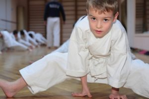 Martial arts can help keep children in good shape over summer break.
