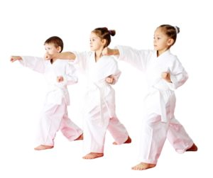 Martial arts classes are a great way to get children to be active.
