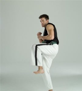Martial arts training can help people become more confident.