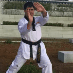Luciano Medina posing in Gi Uniform