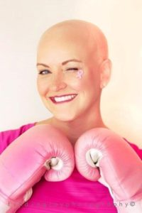 Sue Ward used kickboxing as a healthy outlet when she was diagnosed with breast cancer.